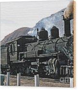 Rio Grande Railway Baldwin Built In 1903 No. 464 Circa 1955 Wood Print