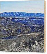 Rio Grande River Canyon-arizona Wood Print