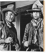 Rio Lobo, From Left, John Wayne, George Wood Print