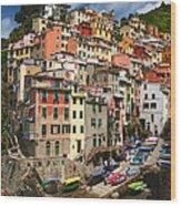 Rio Maggiore Marina Wood Print