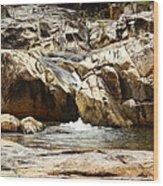 Rio On Pools Wood Print