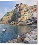 Riomaggiore Cinque Terre - Italy Wood Print