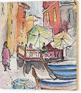 Riomaggiore In Italy 01 Wood Print