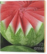 Ripe Watermelon Wood Print