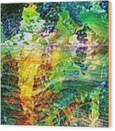 Ripened Vines Wood Print