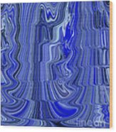 Ripple Abstract Wood Print