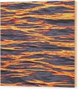 Ripple Affect Wood Print