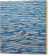 Ripples On A Scottish Loch Wood Print by Tim Gainey