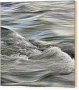 Rippling Water Wood Print