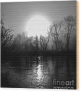 Rise On The French Broad Wood Print