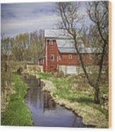 Rising Star Mill Wood Print
