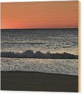 Rising To The Occasion - Jersey Shore Wood Print