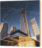 Rising Up Wood Print by John Farnan