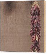 Ristra Wood Print