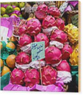 Ritaya Fruit - Mercade Municipal  Wood Print
