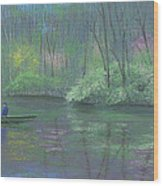 Rite Of Spring Wood Print
