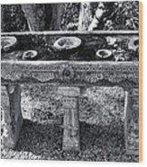 Ritual Wood Print