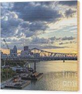 River City - D008587 Wood Print