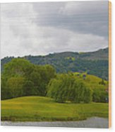 River Course At Alisal Solvang California 6 Wood Print