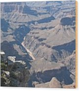 River Deep - Mountain High - Grand Canyon And Colorado River Wood Print