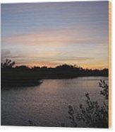 River In The Eveninglight - Sanibel Island Wood Print