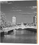 River Liffey - Dublin Wood Print