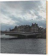 River Ness Bridgeway Wood Print