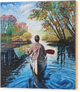 River Of Dreams Wood Print