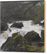 River In County Kerry Ireland Wood Print