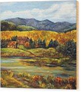 River Ranch Wood Print
