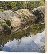 River Reflections IIi Wood Print