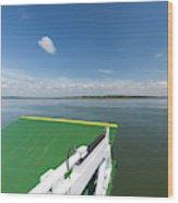 River Shannon Ferry, Tarbert-killimer Wood Print