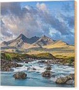 River Sligachan Wood Print