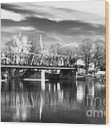 River View In New Hope Wood Print