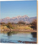 River View Mesilla Wood Print