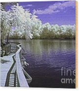 River Walk Wood Print by Paul W Faust -  Impressions of Light