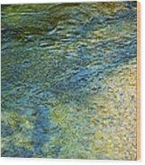 River Water 1 Wood Print