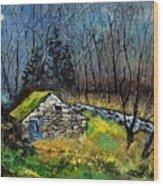 River Ywoigne 7651 Wood Print