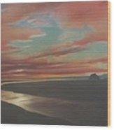 Rivermouth Wood Print
