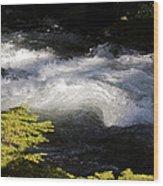 River's Ebb Wood Print