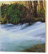 Rivers Edge Wood Print