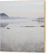 Rivers Mist Wood Print
