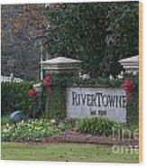 Rivertowne Wood Print