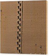 Riveted Plates   #1612 Wood Print
