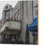 Riviera Theatre Charleston South Carolina Wood Print