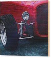 Road Rod  Wood Print
