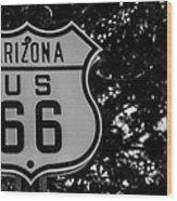 Road Sign 2 Wood Print