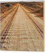 Road To Everywhere Wood Print