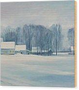 Road To Felchville Vermont Wood Print