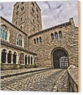 Road To The Gatehouse - In Color Wood Print